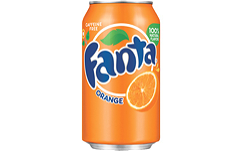Foto Fanta Orange (blikjes)