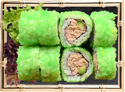 Foto Tuna mousse avocado maki (8st)